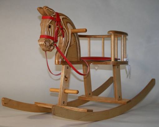 rocking horse chair plans