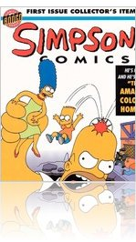 Simpsons Comics Issue 1#