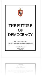 Future of Democracy - Proceedings of the second Rustat Conference