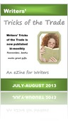 July-August Writers' Tricks of the Trade eZine