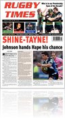 Rugby Times - 15th Jan 2010