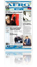 Baltimore Afro-American Newspaper, January 16, 2010