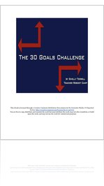The 30 Goals Challenge: Join the Movement