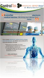ControlTek Medical Device Deisgn & Manufacturing Flyer