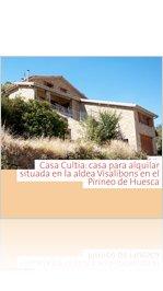 Casa Queli - Visalibons - Huesca - Pirineo Aragonés