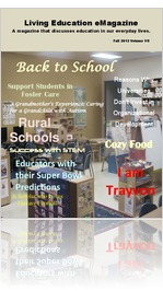 2013 Fall Edition Living Education eMagazine Vol. VII (Iss.F)