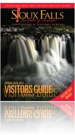 2010-2011 Official Sioux Falls Visitors Guide