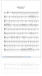 Melodías creadas por 4º básico