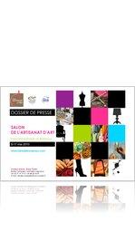 Dossier de Presse du Salon d'Artisanat d'Art Bordeaux 2010