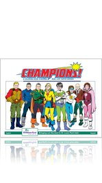 CHAMPIONS! Coloring Book