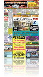 American Classifieds of Knoxville 05-20-10 Edition