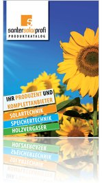 Produktkatalog der Santer Solarprofi GesmbH