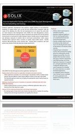 Solix EDMS Test Data Management