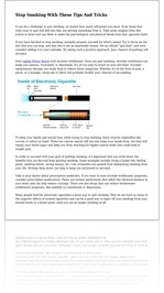 Stop Smoking With These Tips And Tricks