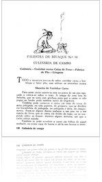 ESCUTISMO PARA RAPAZES, Palestra de Bivaque n.º 10