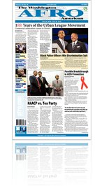 Washington D.C. Afro-American Newspaper, July 24, 2010