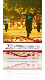2009 Visalia Waiters Race Magazine #1