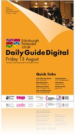 Festivals Edinburgh Daily Guide Digital 13 August 2010