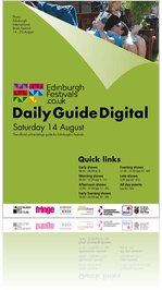 Festivals Edinburgh Daily Guide Digital 14 August 2010
