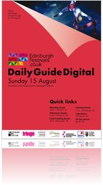 Festivals Edinburgh Daily Guide Digital 15 August 2010