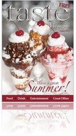 Taste Magazine - August 2010