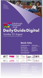 Festivals Edinburgh Daily Guide Digital 22 August 2010