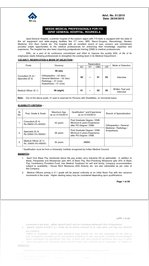 SAIL Jobs Notification of Various Staff