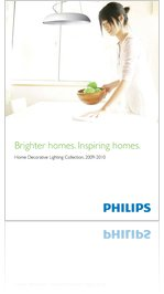 Philips Home Decorative Lighting Collection, 2009-2010