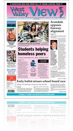 West Valley View : Vol. 25, Issue No. 056: Tuesday, October 26, 2010