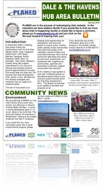 Dale & The Havens Hub Area Newsletter Spring 2010
