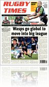 Rugby Times - 7th Jan 2011