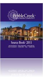 2011 PebbleCreek Post Source Book