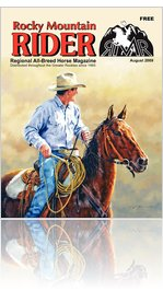 Aug 2009 Rocky Mountain Rider Horse Magazine