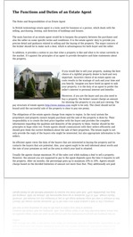 The Functions and Duties of an Estate Agent