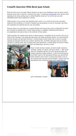 CrossFit Interview With Revie Jane Schulz
