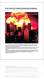 New York City Nuclear Destruction Prophecies