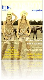 trueCOWBOYmagazine Barbi Twins April 11