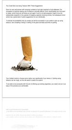 You Could Give Up Using Tobacco With These Suggest