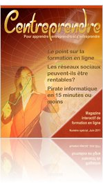 Magazine Centreprendre, Centre virtuel de formation