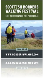 Scottish Borders Walking Festival Brochure 2015