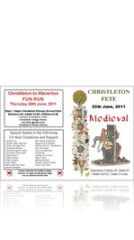 Christleton Fete Brochure 2011