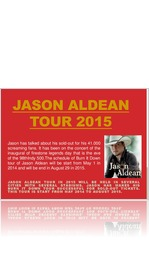 Jason Aldean burn it down tour