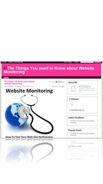 The Items You must Learn about Website Monitoring