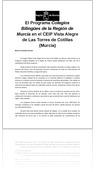 Programa Colegios  Bilingües de la Región de Murcia