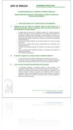ORIENTACIONES METODOLÓGICAS AL PROFESORADO DE ÁREAS NO LINGÜÍSTICASDE EDUCACIÓN SECUNDARIA