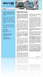 Oliver Legal News - Road Transport and Regulatory Lawyers - Issue 2