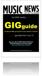 MUSIC NEWS Scotland weekly GIGguide