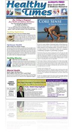 Healthy Times Newspaper Coachella Valley Pub 21