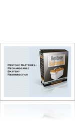 Restore Batteries - Rechargeable Battery Resurrection