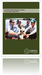 Engineer Without Borders Australia - Annual Report 2009 - 2010